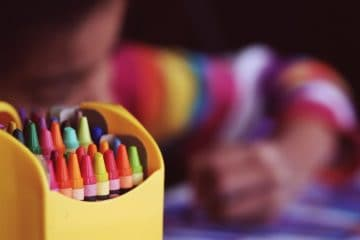 OCCUPATIONAL THERAPY: Child coloring